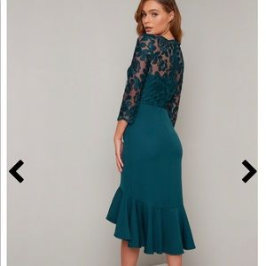 Brand New with Tags (teal) Chi Chi London Dress
